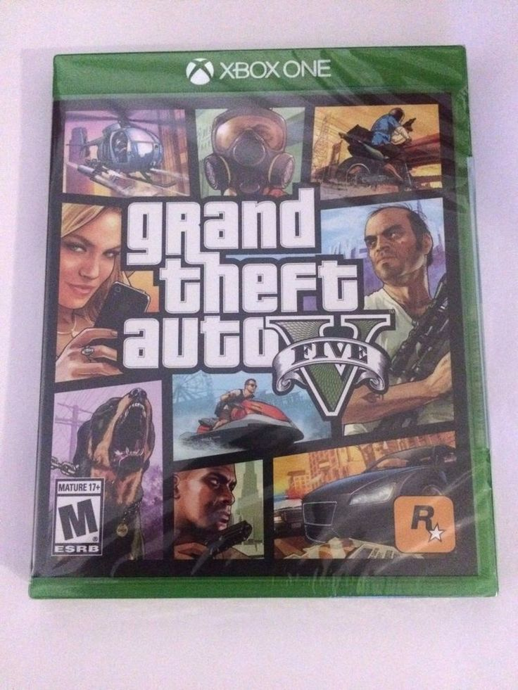 NEW SEALED Grand Theft Auto V  (Microsoft Xbox One) GTA 5 XBOX 1 FREE FAST SHIP