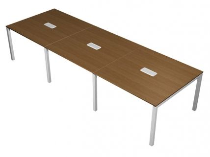 Офисная мебель Юнитекс. Стол для переговоров с кабель-каналом