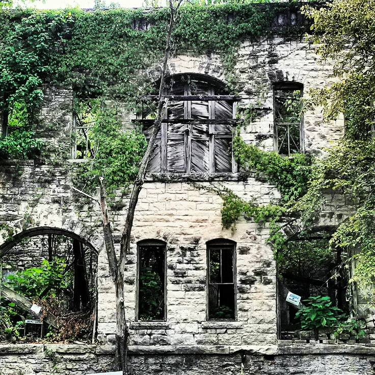 Historic building eureka springs arkansas the old railway