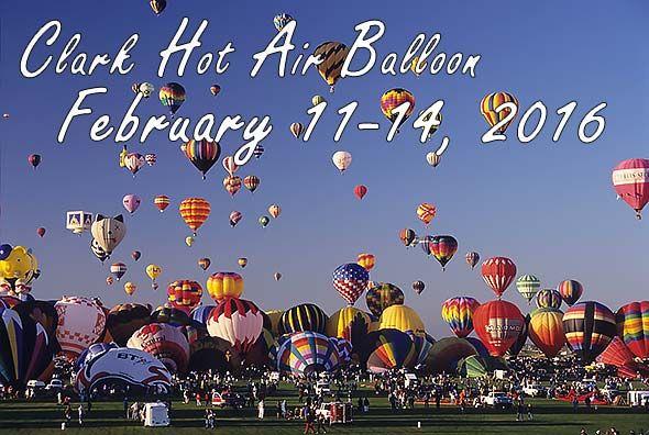 Clark Philippines hot air balloon fiesta/festival in Angeles City, Philippines.
