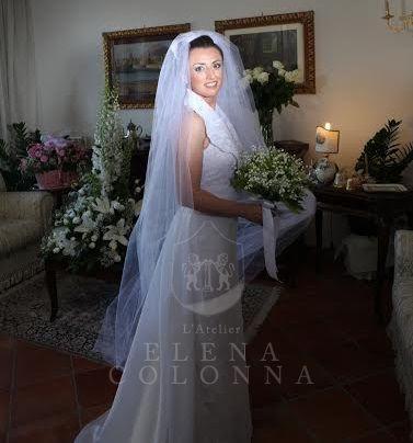 Una giornata speciale per la nostra sposa Cristina. Tanti auguri di felice anniversario di matrimonio da L'Atelier Elena Colonna