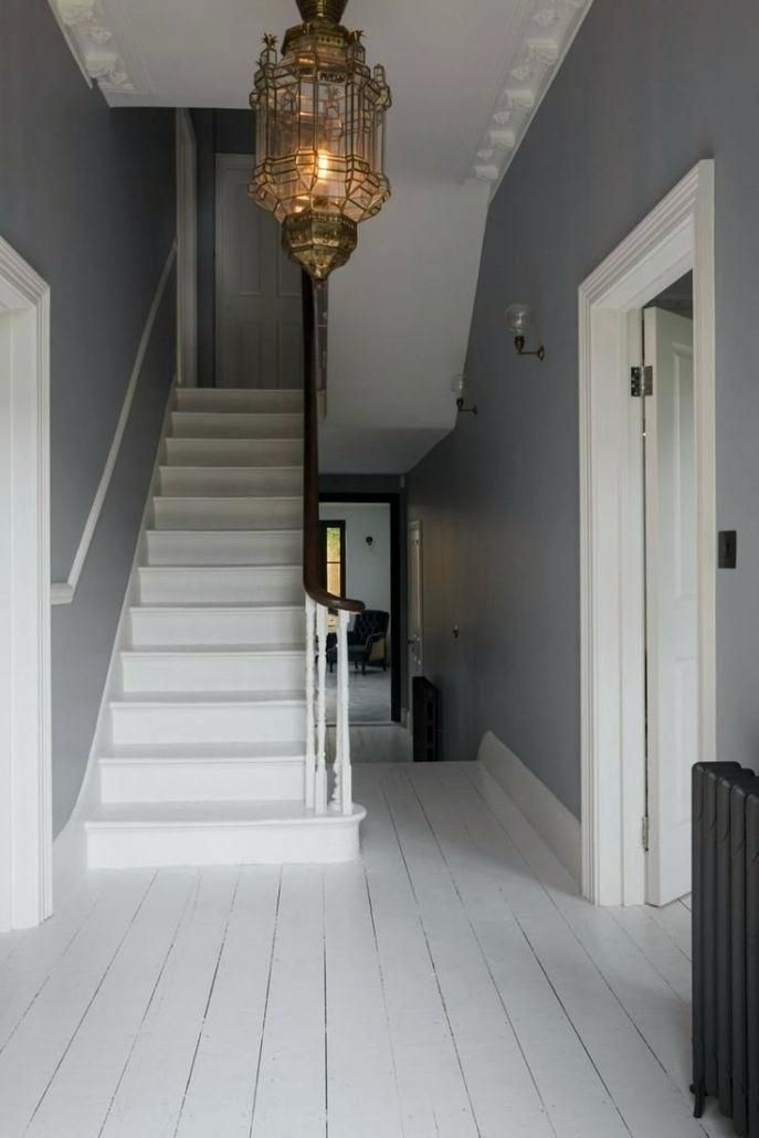 29 Beautiful Industrial Lighting Designs To Complement Your Industrial Home Small Hallway Lighting Ideas Stairway Lighting Victorian Hallway Small Hallways
