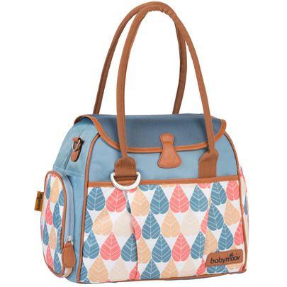 Sac style bag Bleu Pétrole de Babymoov, Sacs à langer : Aubert