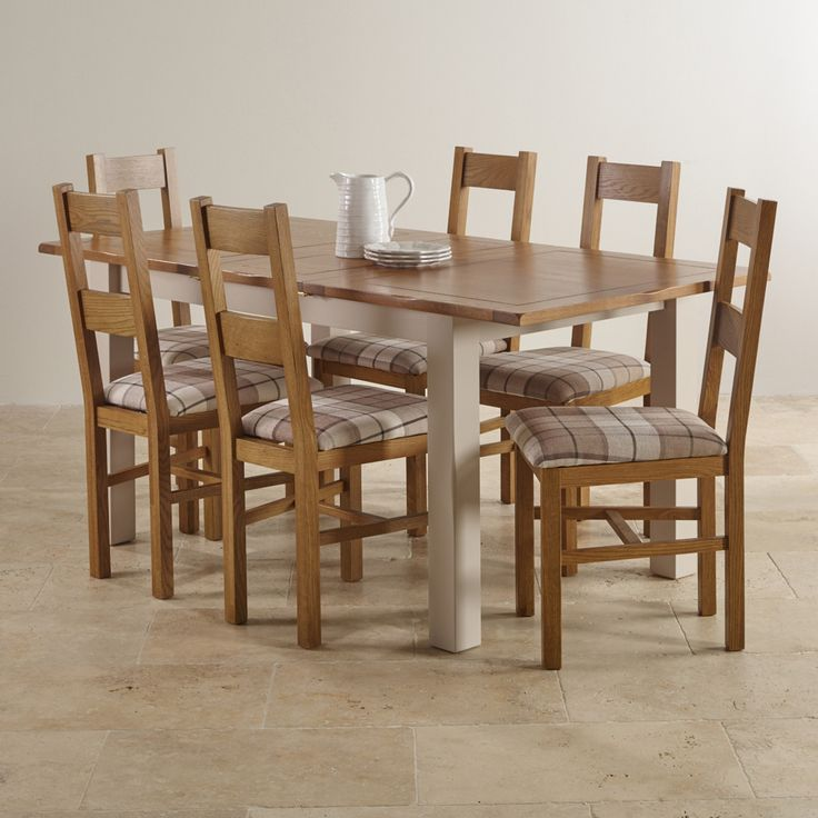 Rustic Oak Extending Dining Table   Go To ChineseFurnitureShop.com For Even  More Amazing Furniture