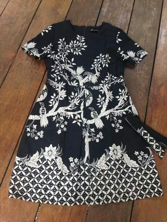 Batik in Monochrome