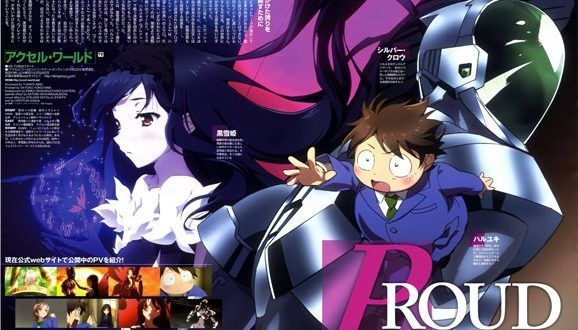 Accel World Infinite Burst Subtitle Indonesia Animasi
