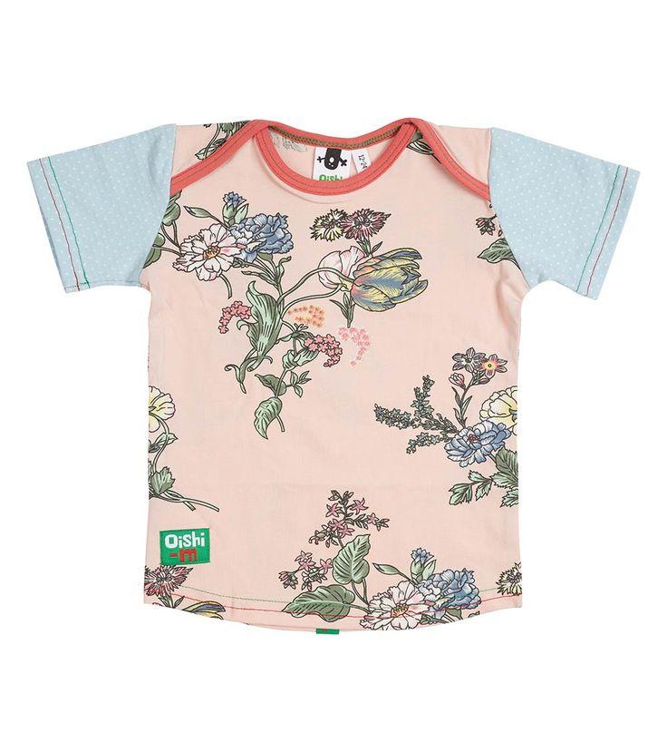 Blue Skies SS T Shirt, Oishi-m Clothing for Kids, Autumn 2018, www.oishi-m.com