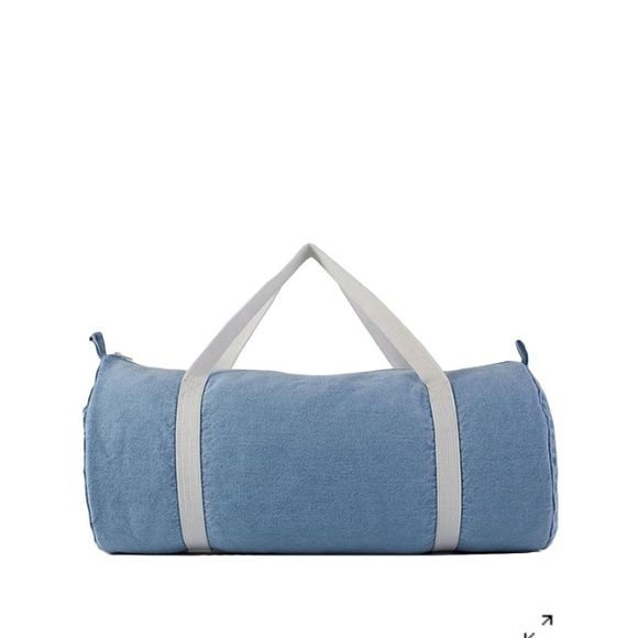American Apparel Denim Duffle Bag In perfect condition! Worn a few times but in mint condition! American Apparel Bags Totes