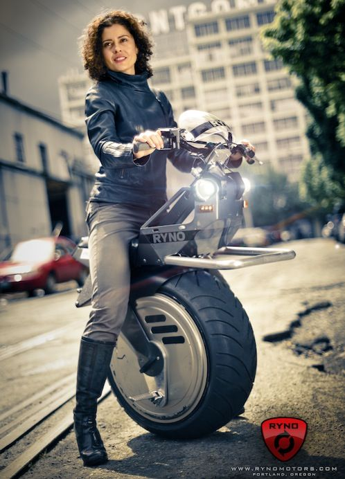 Amazing one wheel electric bike, and it works. love to have one
