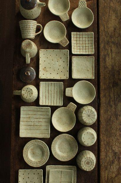 KANARI Junko pottery, Japan 金成 潤子