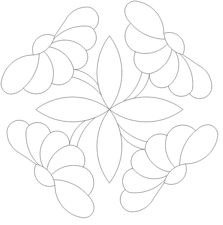 Button Daisy 1 x 4 535