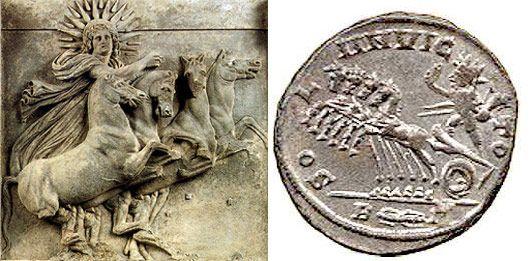 Helios- Sol invicto Antecesores de Santa Claus y la navidad cristiana. http://mochileros.org/nelson/quien-es-santa-claus/