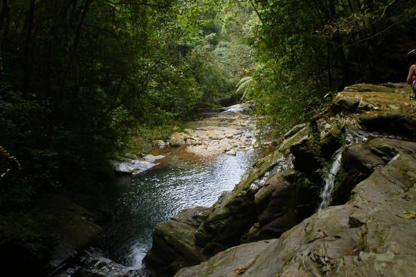 Stream at Bach Ma National Park, Hue, Vietnam