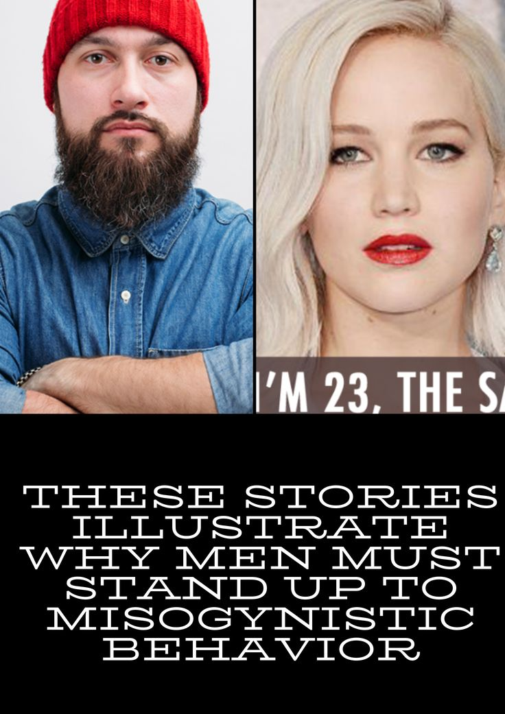 These Stories Illustrate Why Men Must Stand up to