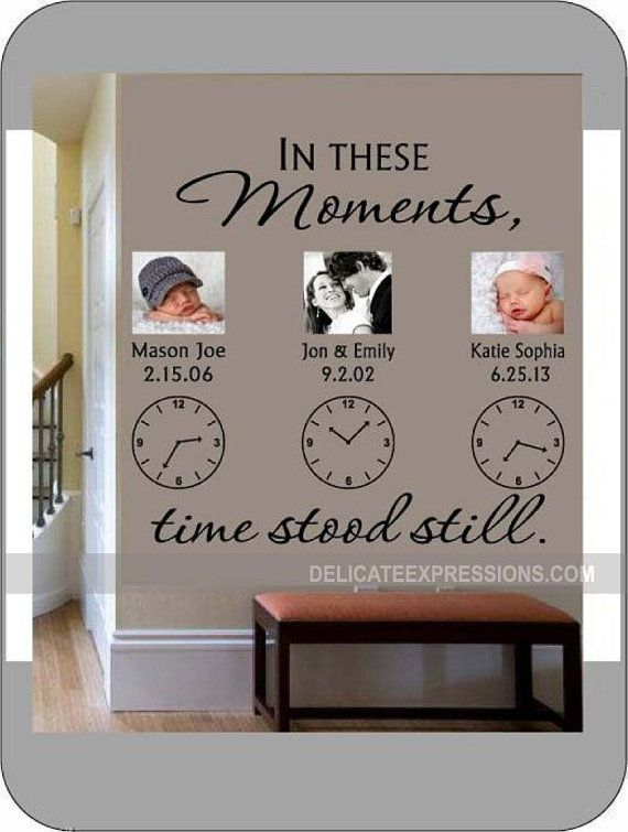 In These Moments Time Stood Still. With up by DelicateExpressions, $36.00