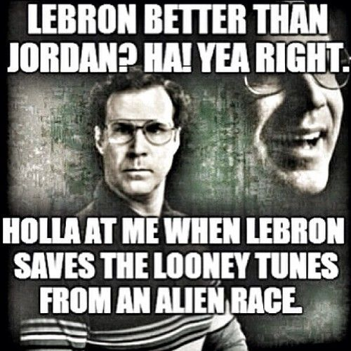 LeBron James Better Than Jordan Meme