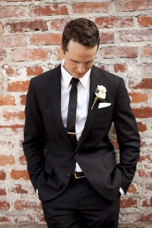 White rose boutonniere | photography by http://stephanieasmith.com/
