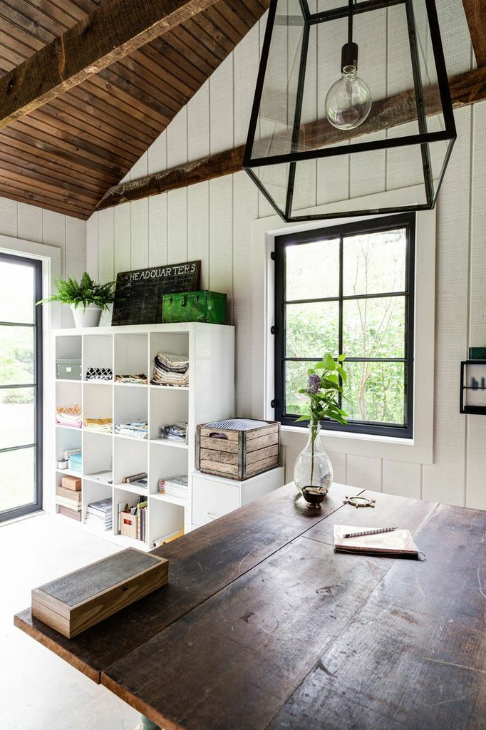 Small barn renovated into an art studio. Yes please! - Southern Exposure