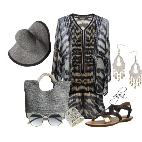 """""""Grey for summer????!!!!!"""" by dgia on Polyvore"""