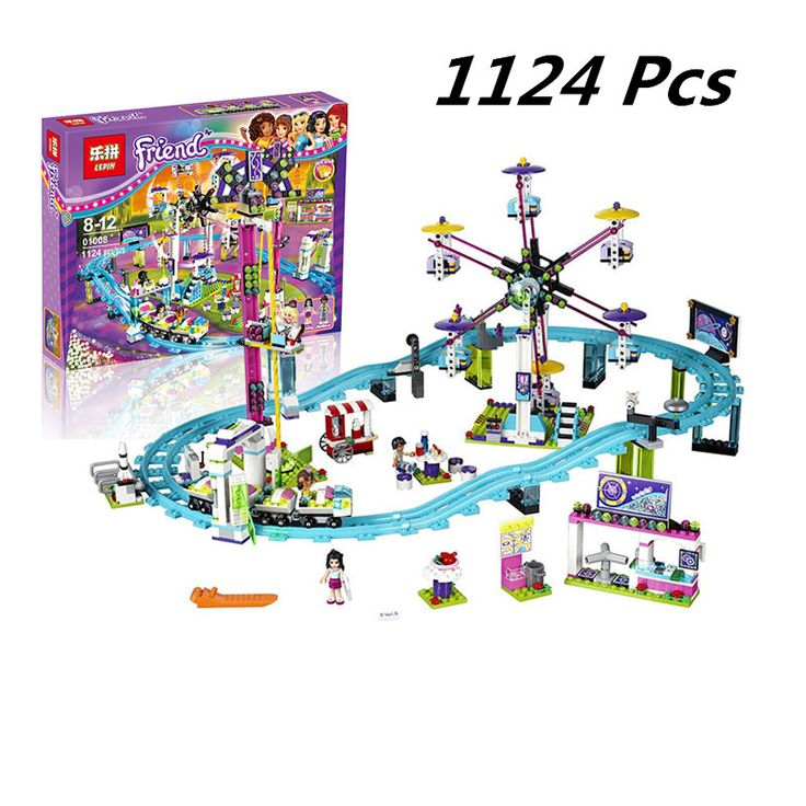Lepin 01008 Model building kits compatible with lego city girls friend Amusement Park 3D blocks Educational model building toys