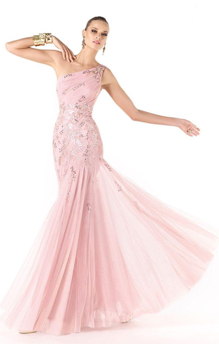 Mejores 213 imágenes de Evening and cocktail dresses Pronovias 2014 ...