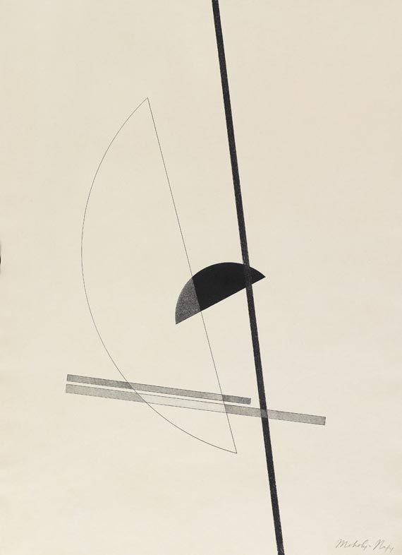 László Moholy-Nagy - Konstruktion IV. 1923