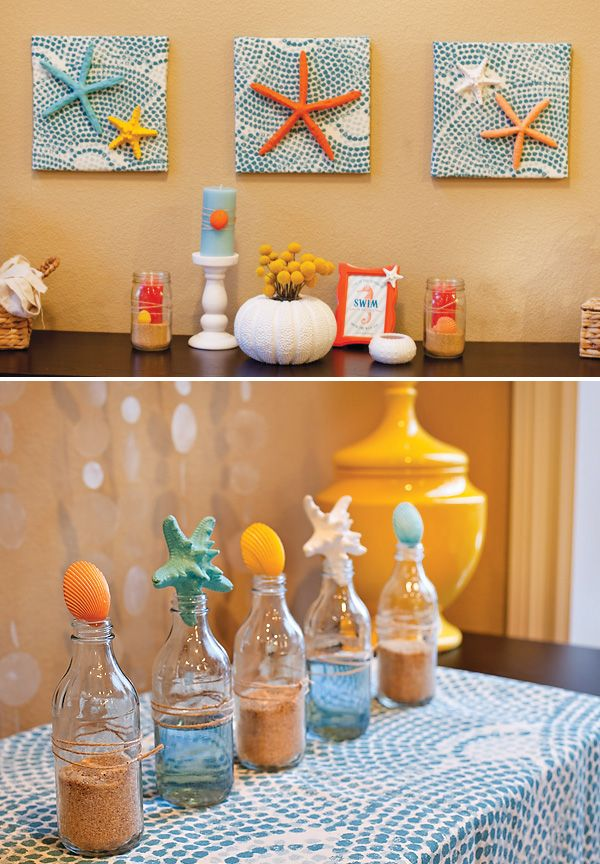 {Semi DIY} Spring Decorating: Modern Beach Pop