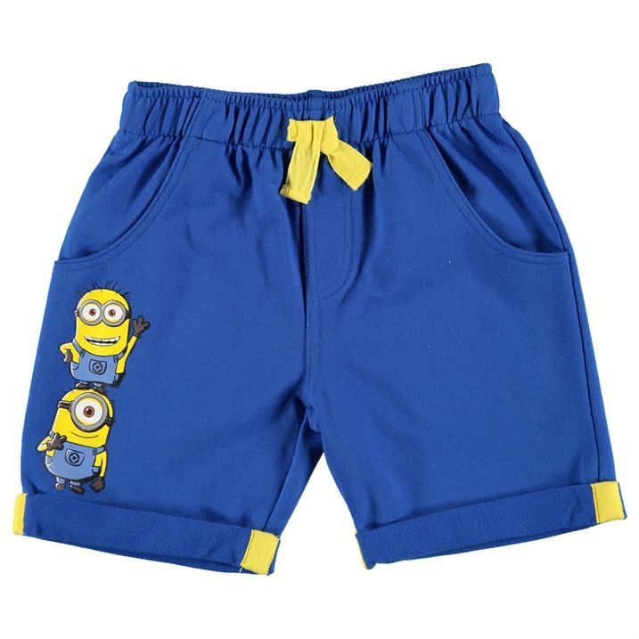 Boys Despicable Me Minion Shorts