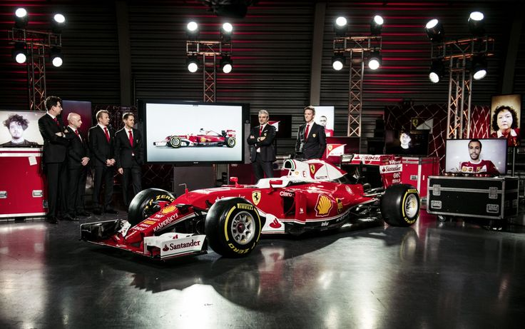 Klistermærker på Ferrari SF16-H - http://pro-street.dk/motorsport/formel-1/117486/?utm_source=PN&utm_medium=Pro-Street.dk+%2F+Motorsport&utm_campaign=SNAP%2Bfrom%2BPro-Street.dk