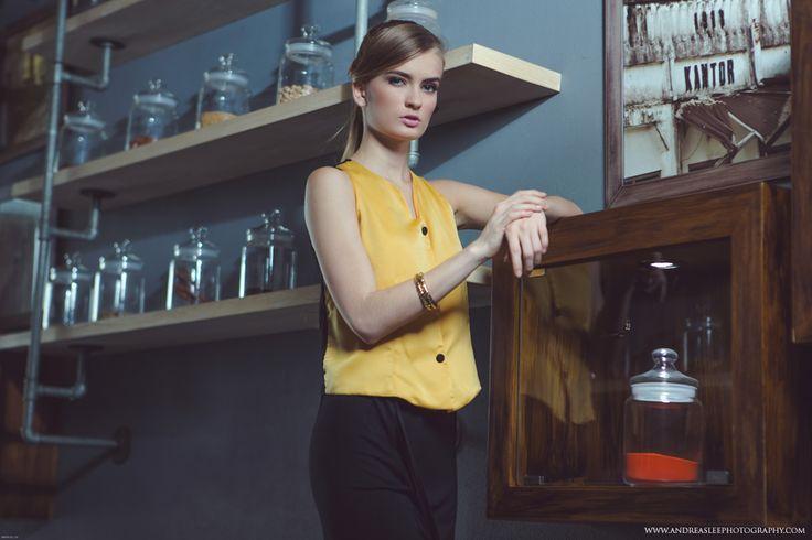 Fashion photoshoot for ASHLYN