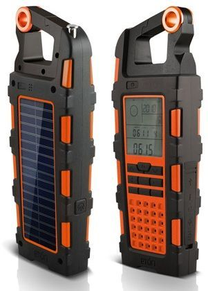 This is the Eton Raptor. Another essential for the home emergency pack, or even just as a luxury item for when you go camping. This solar powered unit packs in a radio, digital clock with alarm, chronograph, barometer, compass,altimeter compass, LED flashlight, bottle opener, 1800mAh rechargeable battery, USB charger and an auxiliary audio input. All...