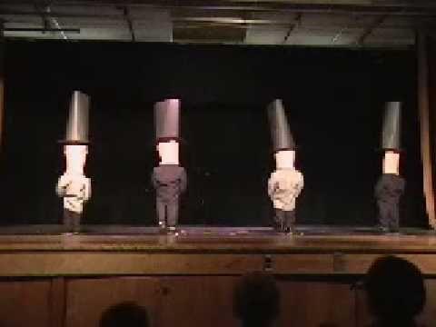 Beyer High Dance Production - Bag Dance 2010 - YouTube