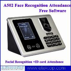 [ $42 OFF ] 500 Face Recognition Capacity Facial Recognition +Id Card Attendance System For Time Attendance Free Software A502