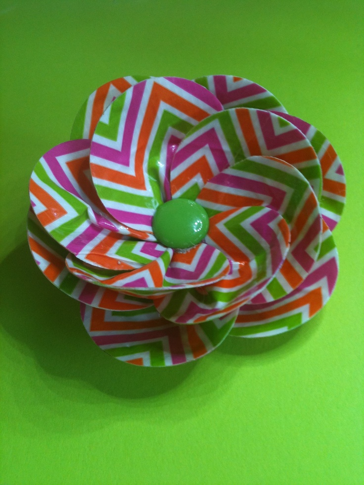 Flower Made Out Of Duct Duck Tape Duck Tape