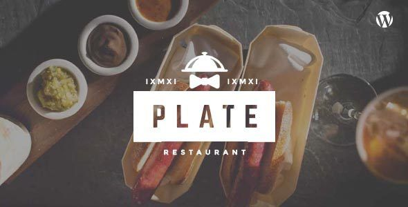 Plate - Professional Restaurant & Cafe Theme (Restaurants & Cafes) - http://creativewordpresstheme.com/plate-professional-restaurant-cafe-theme-restaurants-cafes/