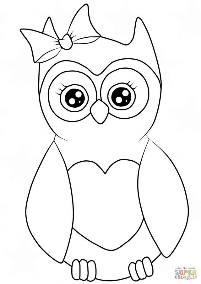 30 Beautiful Image Of Cartoon Coloring Pages Owl Coloring Pages