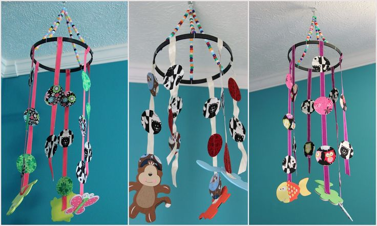 diy baby mobile | scratch-made wife: DIY Baby Mobiles