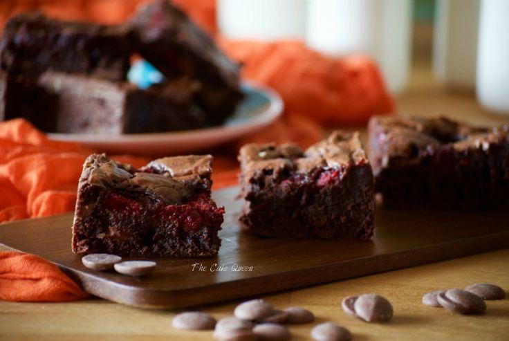 Брауни с малиной - The Cake Queen