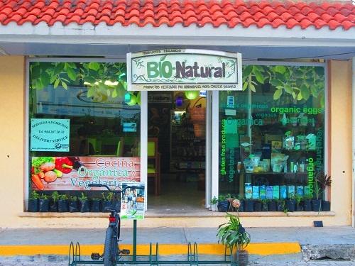 BIO-NATURAL Restaurant y tienda organica y vegetariana Bio-Natural orgánicos, ecológicos y reciclados vegetarian and gluten-free items!