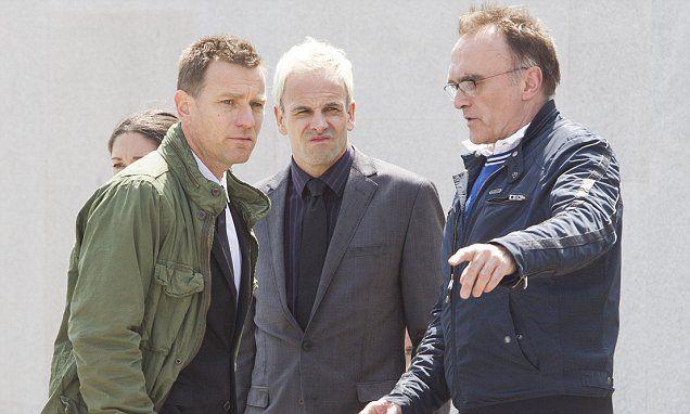 Ewan McGregor and Jonny Lee Miller film Trainspotting sequel