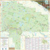Official Algonquin Park Canoe Routes Map Online | Algonquin Provincial Park | The Friends of Algonquin Park