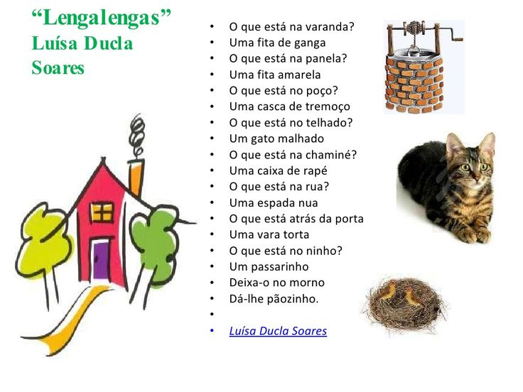 Lengalengas by Monica Mamede via slideshare