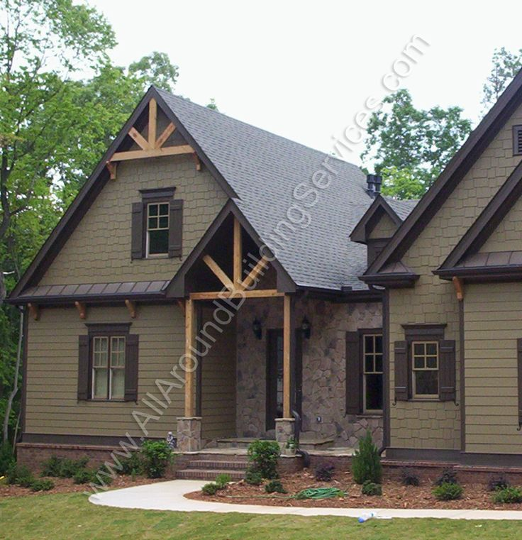 Gable brackets google search harman home pinterest exterior and cabin for Exterior decorative trim for homes