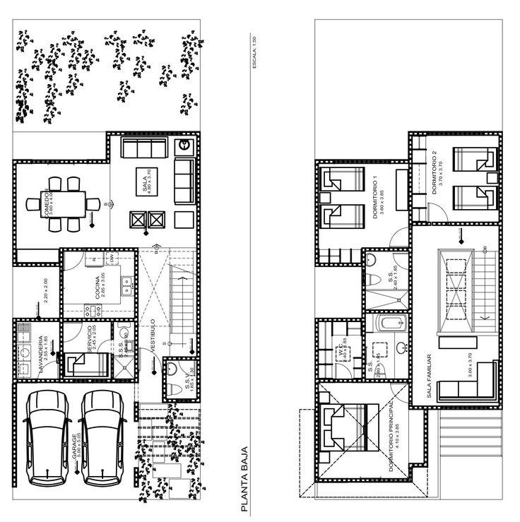 25 Best Ideas About Casas Con Planos On Pinterest