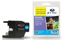 JetTec Brother LC-1240C Cyan Remanufactured Ink The Brother LC-1240C Cyan Remanufactured Ink Cartridge by JetTec - B1240C is a JetTec branded remanufactured printer ink cartridge for Brother printers. They provide OEM style quality printing but at  http://www.MightGet.com/february-2017-3/jettec-brother-lc-1240c-cyan-remanufactured-ink.asp
