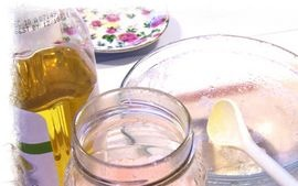 Homemade sugar foot scrubs - use one cup of sugar and two tablespoons of lotion