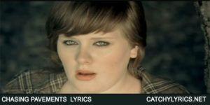 Chasing Pavements Lyrics – Adele – 19 image