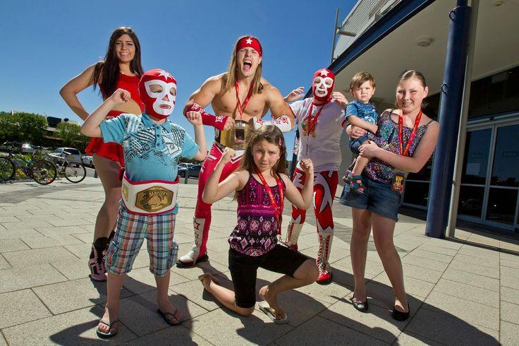 NEW Super Wrestling Hero Champion Joshy  www.superwrestlingheroes.com.au/store