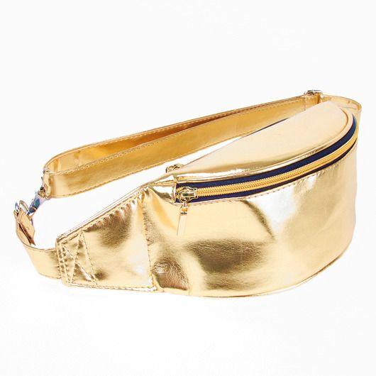 nerki - damskie-Nerka Nuff Bling Bling| złota