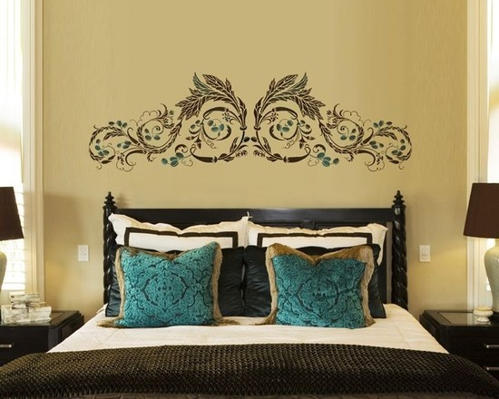 17 best Decor Stencils images on Pinterest | Stencil, Wall ...